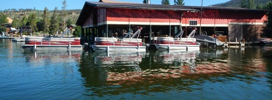 Western Riviera Lakeside Lodging & Events: Grand Lake Marina