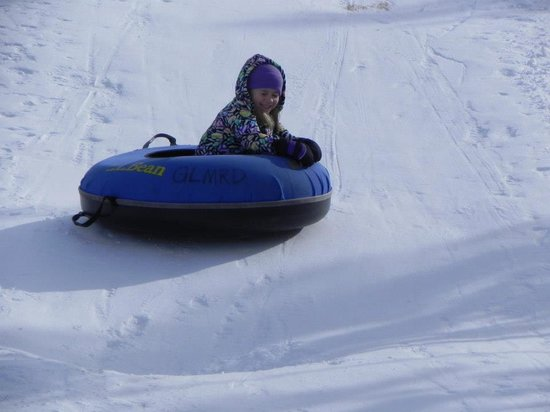 Western Riviera Lakeside Lodging & Events: Tubing at Grand Lake Nordic Center