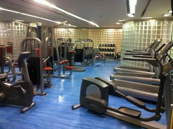 Melia Buenos Aires:                   para manter a forma, um bom gym