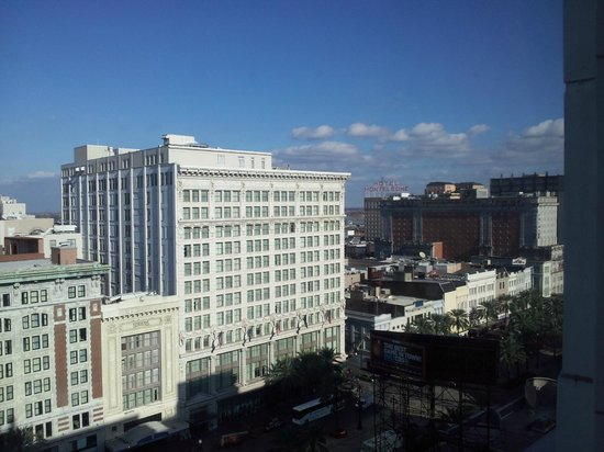 The Roosevelt New Orleans, A Waldorf Astoria Hotel:                   The View