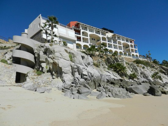 Welk Resorts Sirena Del Mar:                   Resort from the beach