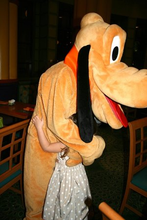 The Garden Grove:                   my niece with pluto