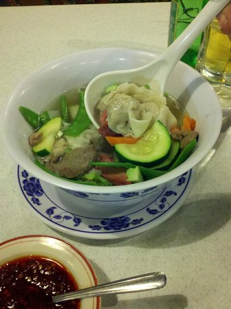 Fortune Cookie:                   Wor Won Ton Soup - fresh & prepared to order