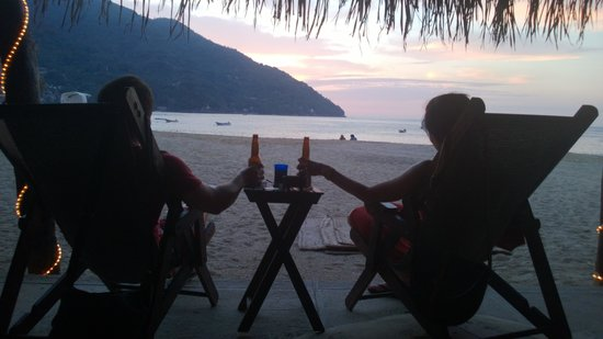 MiraMar Yelapa:                   The beach we spent time on