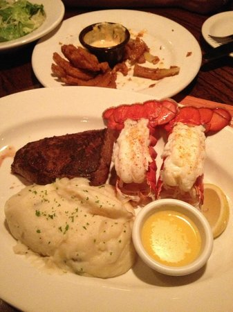 Outback Steakhouse:                   ロブスター