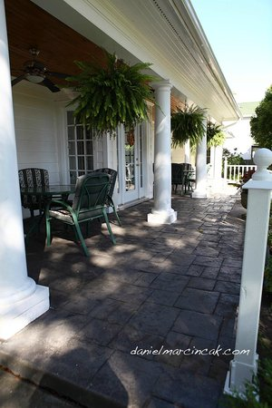 Chestnut Inn: Front Terrace