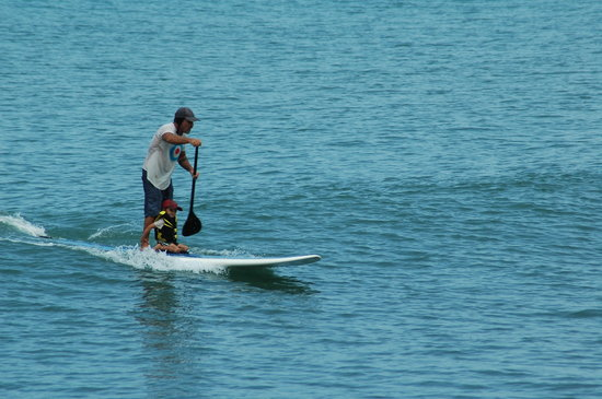 Costa Rica Stand Up Paddle Boarding: Family fun