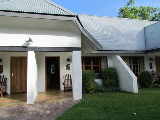 Knysna Hollow Country Estate: Notre chambre