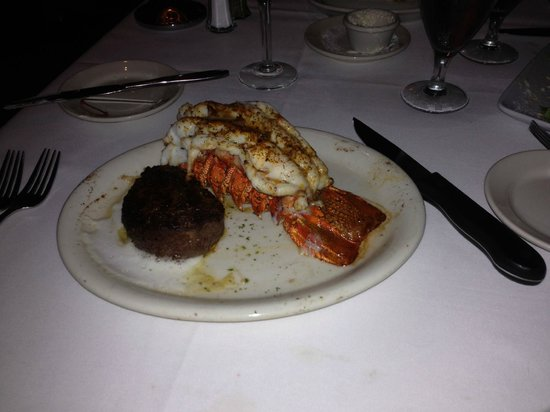 Ruth's Chris Steak House:                   Surf and Turf