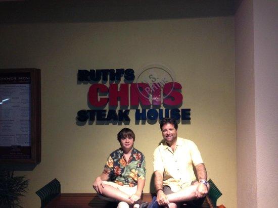 Ruth's Chris Steak House:                   Otro Gran Ruth Chris Steakhouse