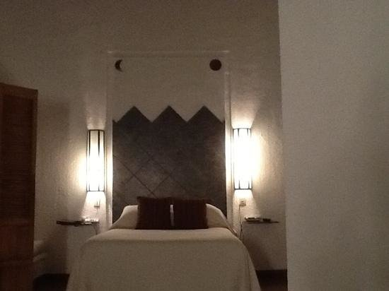 Hotel Hacienda de Cortes :                   cama