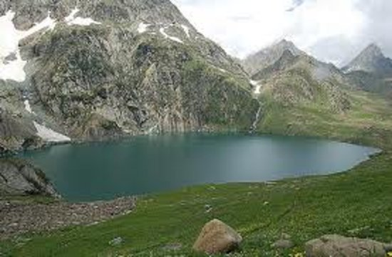 Sonamarg, India:                   view from camera