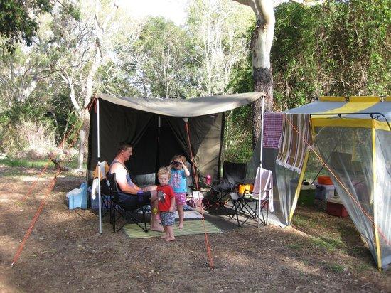Bargara Beach Caravan Park:                   Relaxed family camping