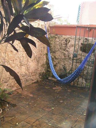 Bed & Breakfast Garden:                   Private patio with hammock