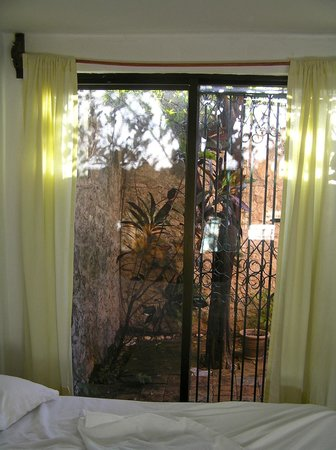 Bed & Breakfast Garden:                   Private patio off roon
