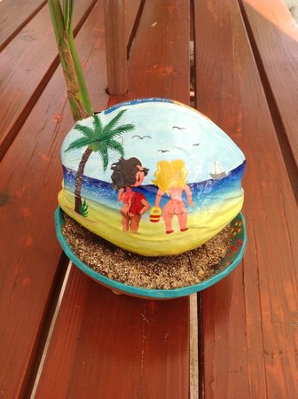 Hidden Beach Resort by Karisma:                                     coconuts at pool grill picnic table