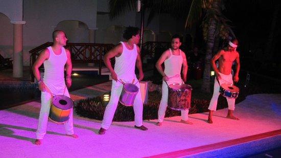 Hidden Beach Resort by Karisma:                                     nightly entertainment