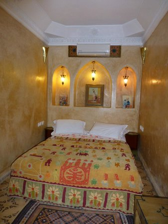 Riad Adriana:                   Our beautiful room on return!