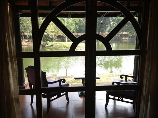 Vivanta by Taj - Kumarakom: fenêtre sur vue