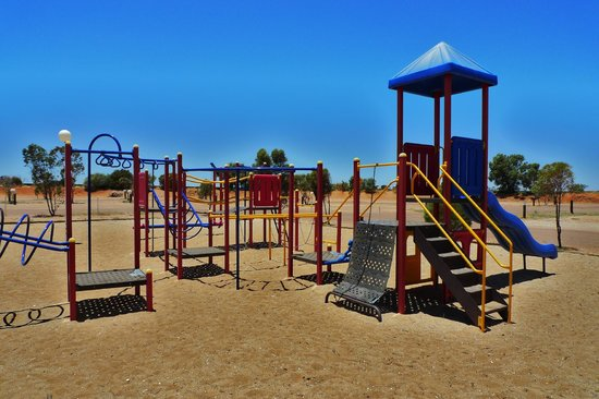 BIG4 Stuart Range Outback Resort: Childrens playground