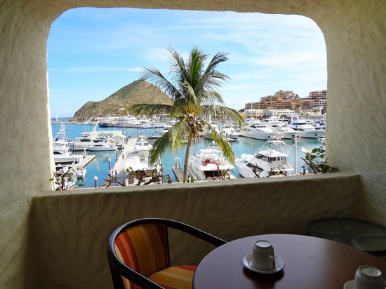 Tesoro Los Cabos:                   View of our terrasse and the marina