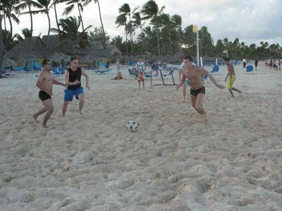 ‪‪Caribe Club Princess Beach Resort & Spa‬:                   Futbol playa