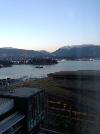 Fairmont Pacific Rim:                   view from room 1523