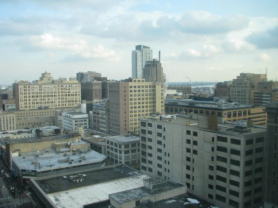 Philadelphia Marriott Downtown:                   view from my 22nd floor room