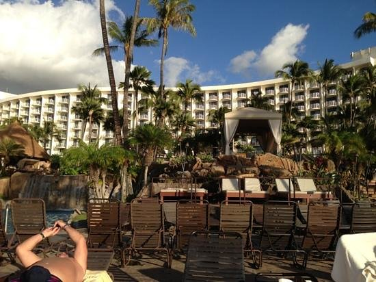 Westin Maui Resort And Spa: from the pool