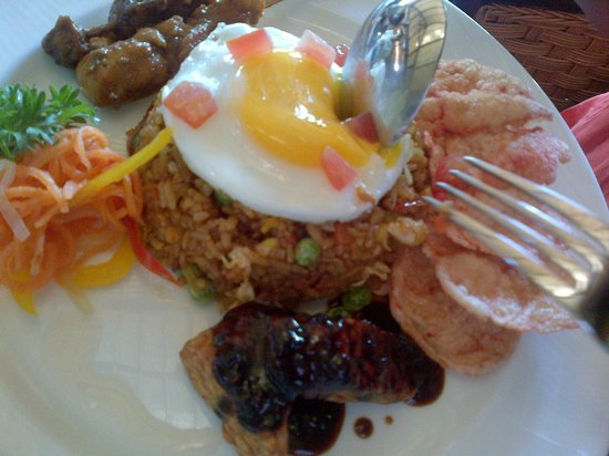 Pita Maha Resort and Spa:                   Children's Nasi Goreng
