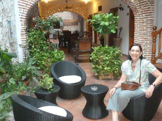 Casa Villa Colonial:                   sala de estar