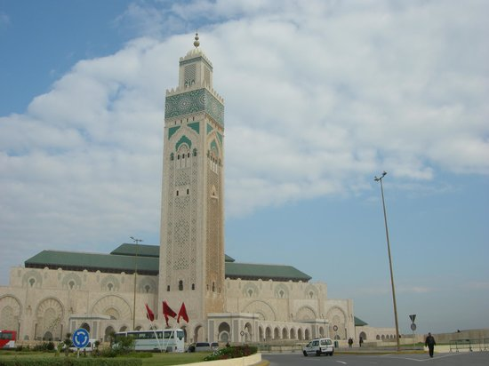 Hassan II:s moské:                                                       Casablanca  Mosquee Hassan ll