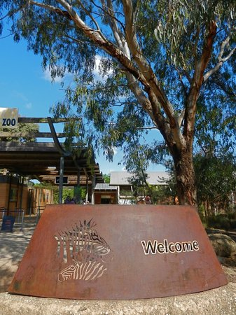 Werribee Open Range Zoo: Werribee Zoo Entrance