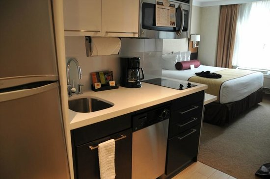 Staybridge Suites Times Square - New York City:                   部屋
