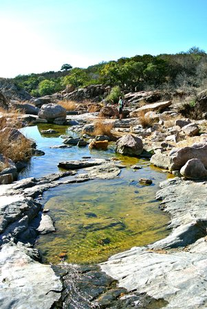Canyon of the Eagles Resort:                   Hiking at Inks Lake