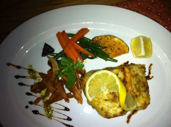 Old Townhouse Restaurant:                                     Fisch - ausgezeichnet