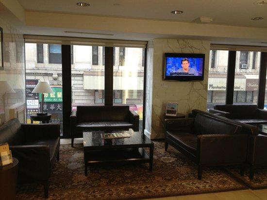 Best Western Bowery Hanbee Hotel: L'accueil