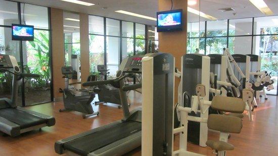 Shangri-La Hotel, Chiang Mai: fitness room