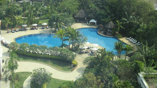 Shangri-La Hotel, Chiang Mai: View from executive suite, 12. floor