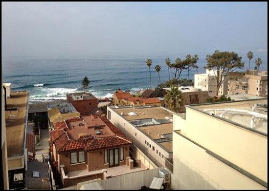 Grande Colonial La Jolla:                   Room 521 - 5th Floor - Corner Room / KIng - Partial Ocean View
