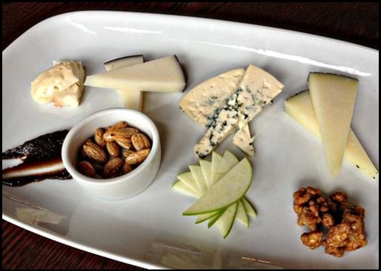 Grande Colonial La Jolla:                   Assorted Cheese Plate - Nine - Ten Restaurant