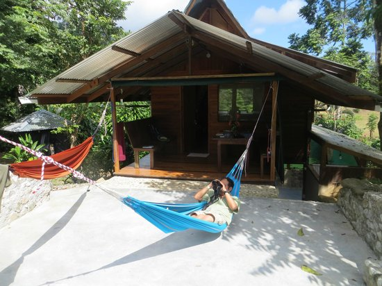 Osa Rainforest Rentals:                   outside of La Casita del Rio