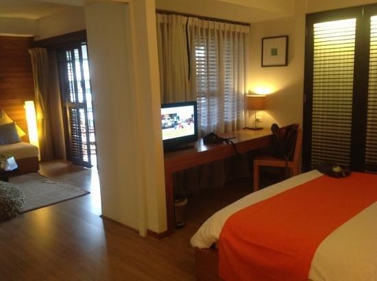Banthai Beach Resort & Spa: sleep well...schöner schlafbereich...!