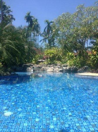 Parigata Villas Resort:                   het algemene zwembad