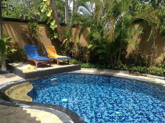 Parigata Villas Resort:                   het privezwembad