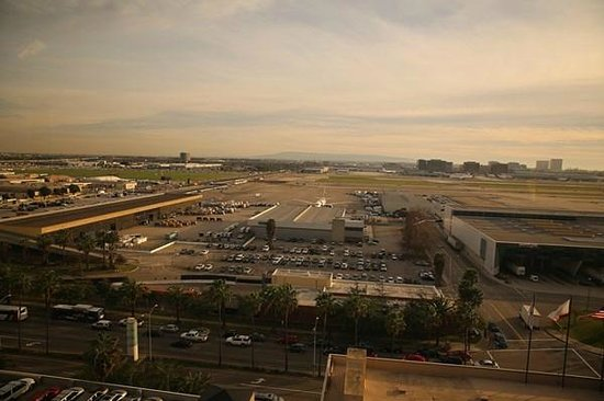 Hilton Los Angeles Airport:                   View from Room