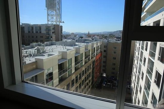 W Hollywood:                   View from Room