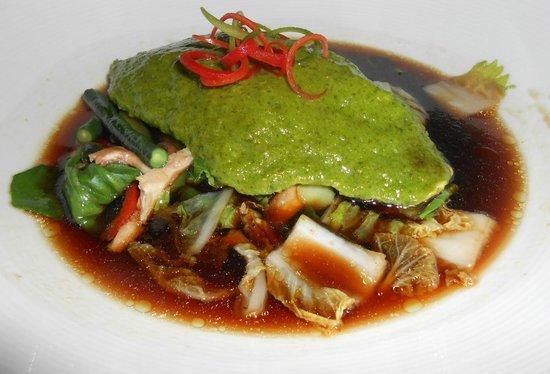 Yum Cha Asian Eatery:                   Emerald Fish