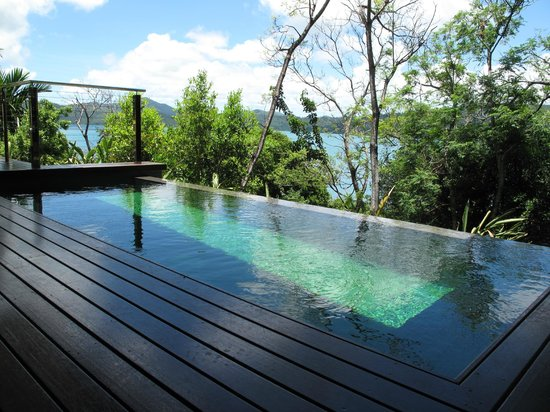 Qualia Resort: In-room plunge pool