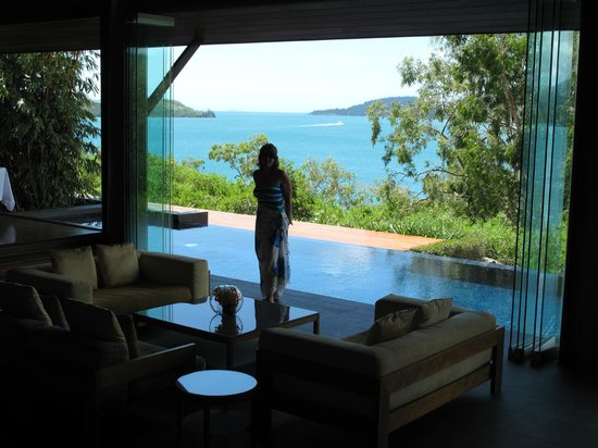 Qualia Resort: Lobby of Long Pavilion